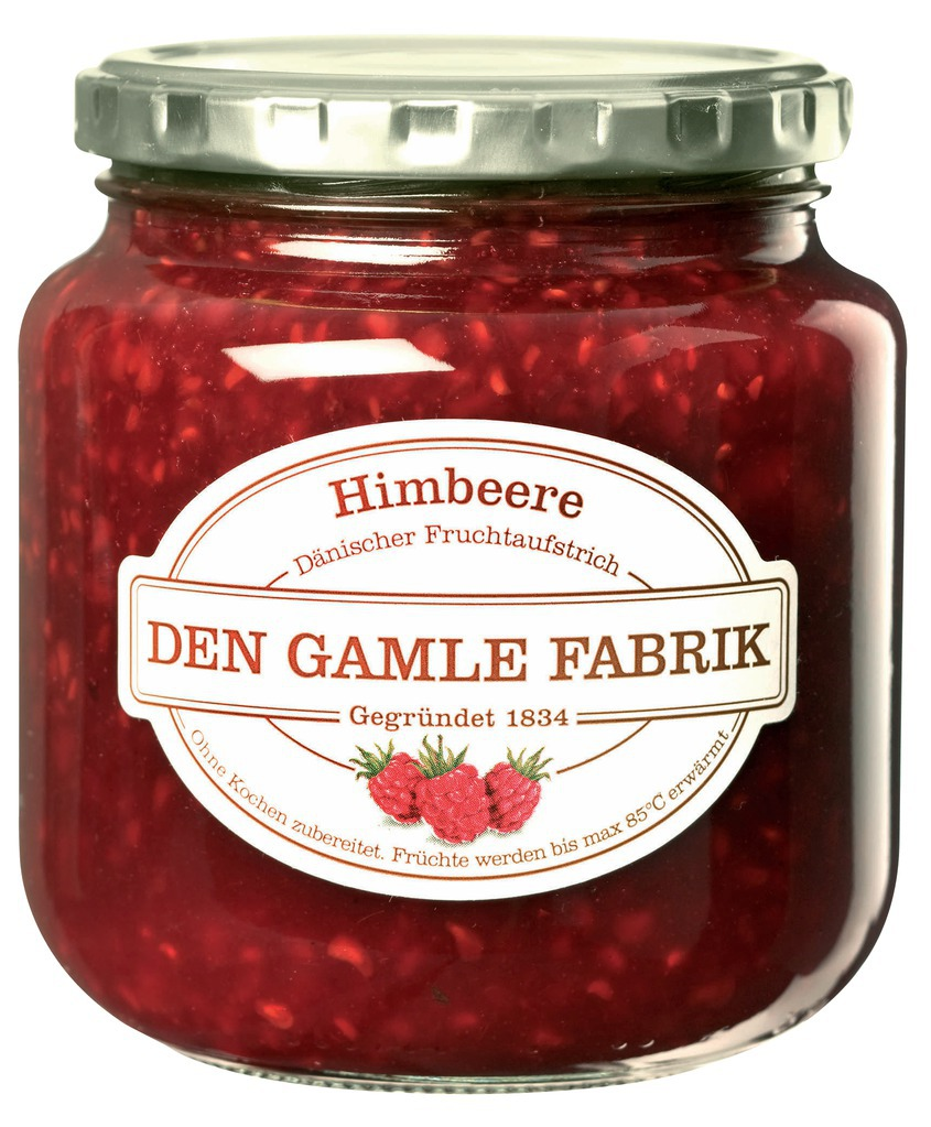 Den Gamle Fabrik Marmelade Himbeere 600g