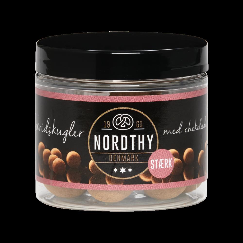 Nordthy Lakritz mit Milchschokolade STARK 100g