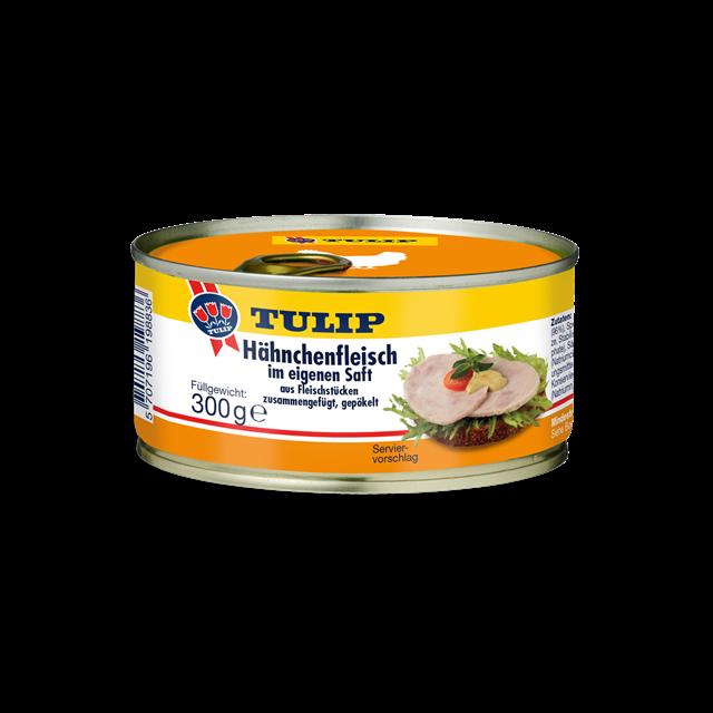 Tulip Hähnchenfleisch im eignen Saft 300g