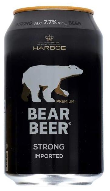 Harboe Bjørne Brygg 7,7% 0,33 ltr.