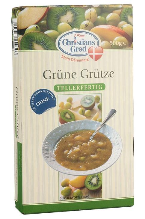Christians Grød Dänische Grüne Grütze 500g