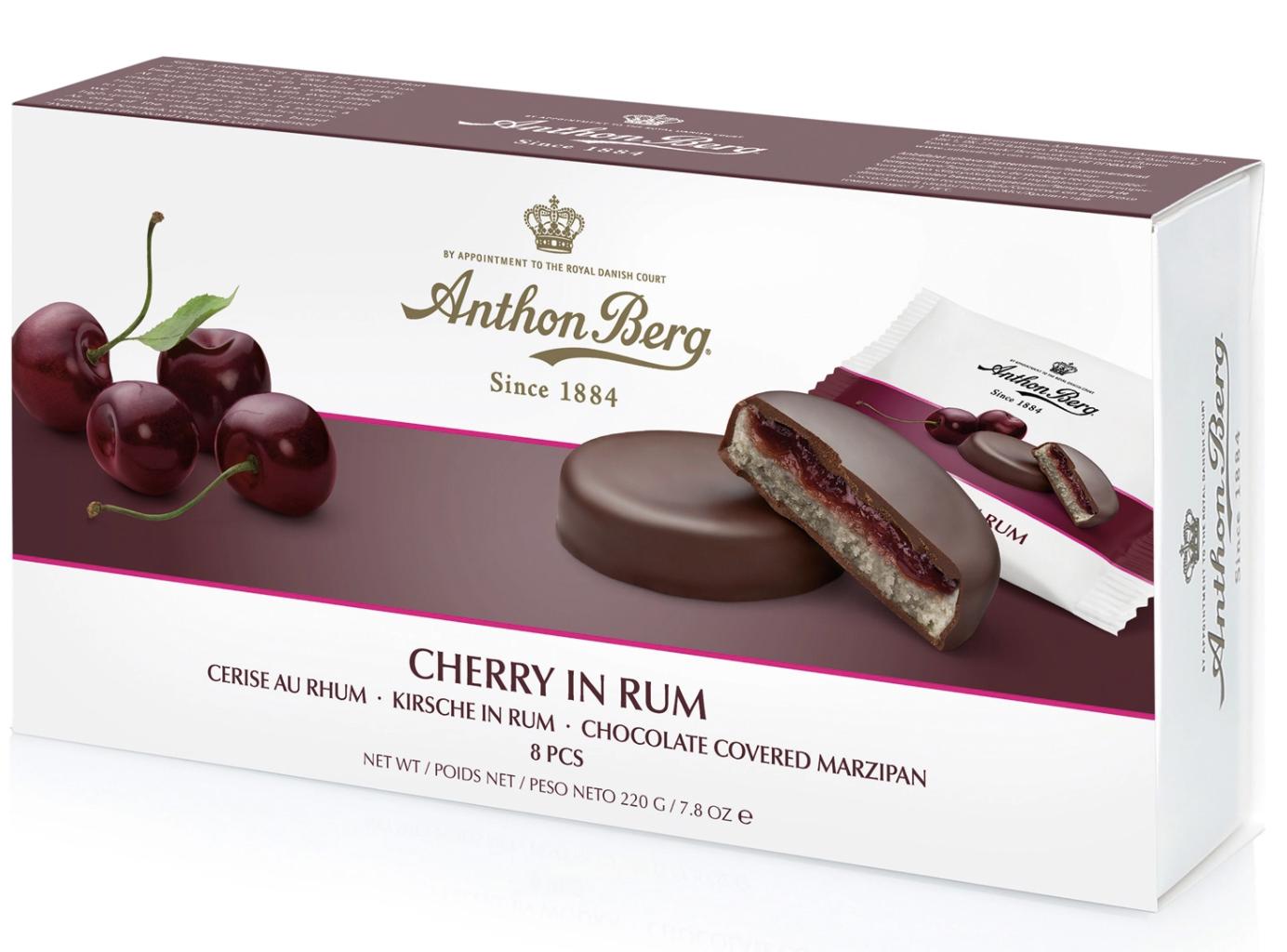 Anthon Berg Cherry in Rum 220g