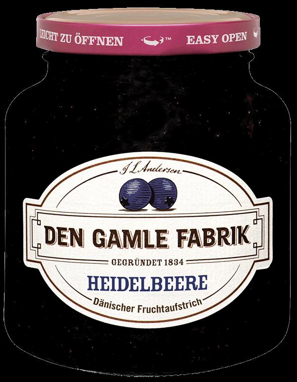 Den Gamle Fabrik Marmelade Heidelbeere 380g