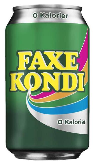Faxe Kondi 0 Kalorien 0,33 ltr.