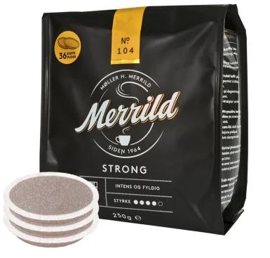Merrild Strong Kaffee Pads 250g