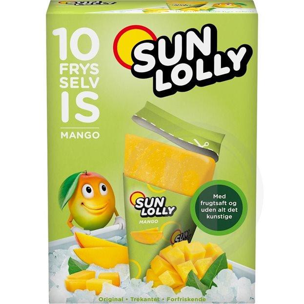 Sun Lolly Wassereis Mango 10er