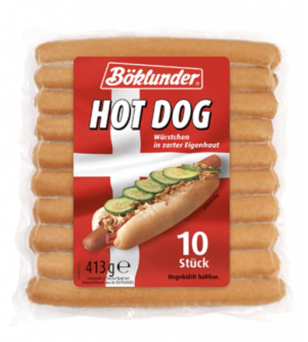 Dänische Hot Dog Würstchen 413g