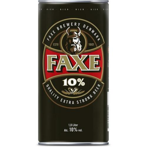Orginal Faxe Extra Strong Beer 1,0L XXL-Dose