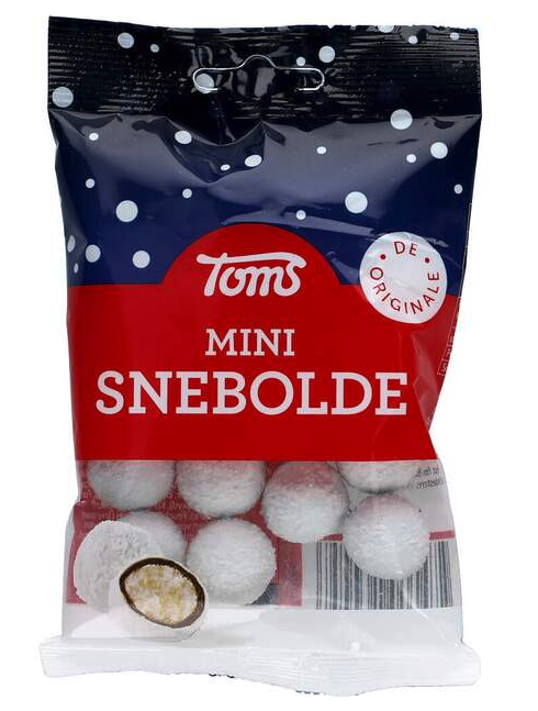 Toms Mini Snebolde 75g