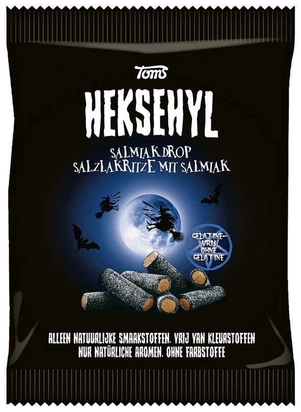 Toms Heksehyl Salmiak 150g