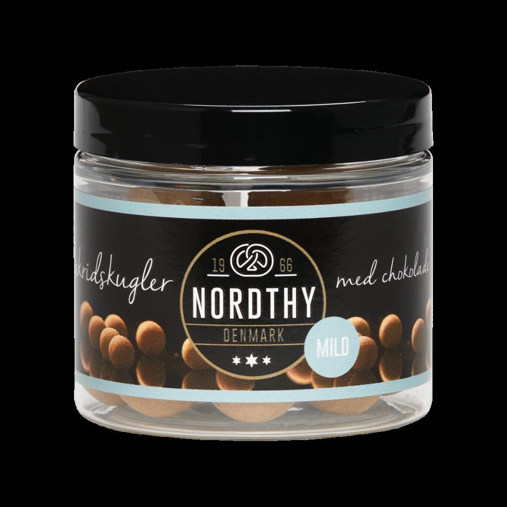 Nordthy Lakritz mit Milchschokolade MILD 100g