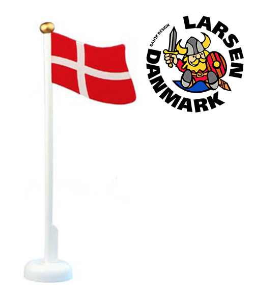 Dänemark-Tischfahne aus Holz