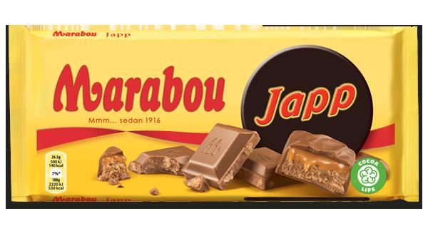 Marabou Japp Schokolade 185g