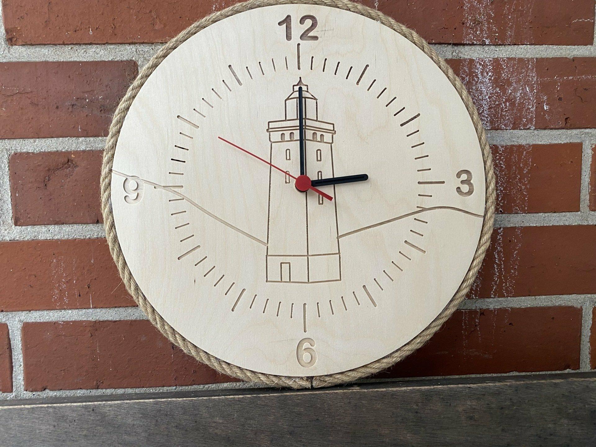 "Uhr ""Rubjerg Knude Fyr"""